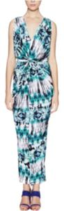 Turquoise Maxi Dress by T-Bags Los Angeles Maxi Tie Dye