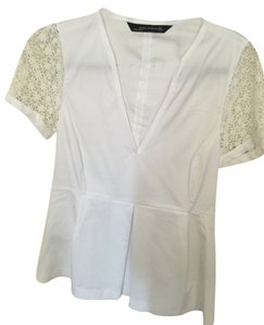 Zara Professional Women Top white