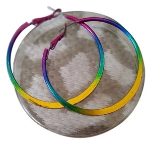 Other FLASH SALE Rainbow hoop earrings