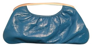 Express Blue Clutch