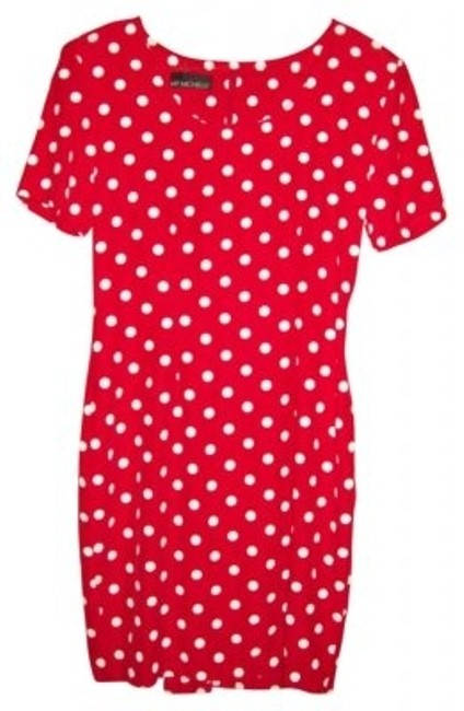 Preload https://item3.tradesy.com/images/my-michelle-red-and-white-polka-dot-mini-workoffice-dress-size-6-s-7032-0-0.jpg?width=400&height=650