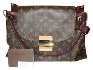 Louis Vuitton Olympe Lv Monogram Speedy Tote in Quetsche