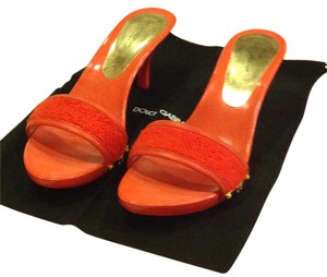 Dolce&Gabbana Orange Pumps