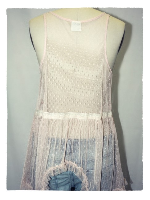 Free People Top dusty rose