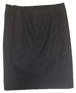 Vince Mini Skirt Black denim