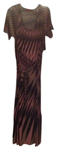 Sand Geometric Maxi Dress by Melissa Masse