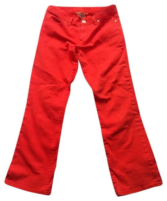 Item - Red Capri/Cropped Jeans Size 26 (2, XS)