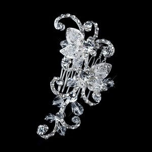 Dazzling Swarovski Crystal & Rhinestones Wedding Bridal Hair Comb
