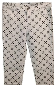 Divided by H&M Skinny Pants White/Black