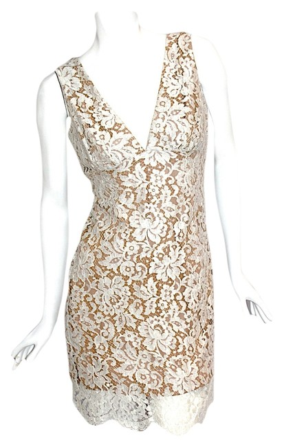 A.B.S. by Allen Schwartz Lace Above Knee Spring Dress