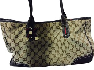 Gucci Monogram Vintage Shoulder Bag