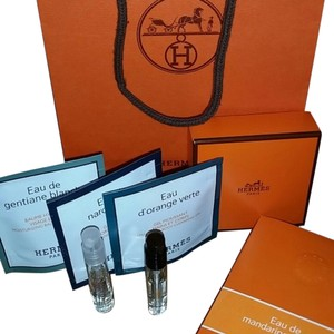 Hermès Hermes Perfume Sample Skin care + Gift bags and boxes