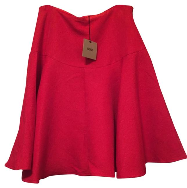 Item - Red Skirt Size 10 (M, 31)