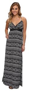 Black and white Maxi Dress by Lucy Love