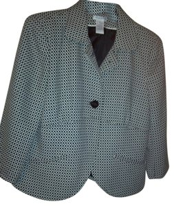Worthington Black and White Blazer