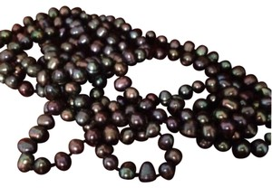 Boutique Genuine Black Hawaiian Fresh Water Pearls