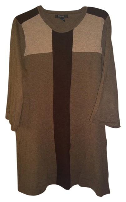Preload https://item1.tradesy.com/images/style-and-co-beigebrown-sweaterpullover-size-12-l-703575-0-0.jpg?width=400&height=650