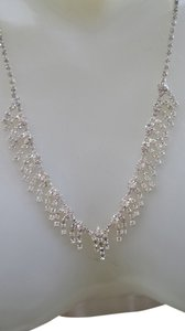 unknown Rhinestone necklace & bracelet set