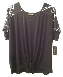 Style & Co Top Black