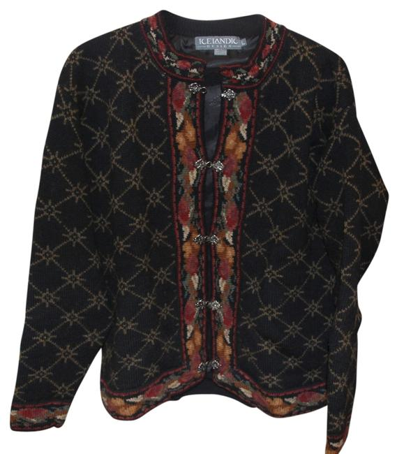 Preload https://item2.tradesy.com/images/icelandic-design-blackmulti-fully-lined-cardigan-size-12-l-703781-0-0.jpg?width=400&height=650