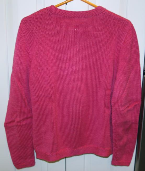 Nantucket Designer Knits Hand Sweater Set Shell Buttons Cardigan