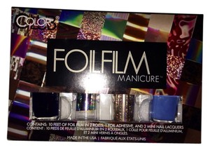 Urban Outfitters Foil Film Manicure Nail Set