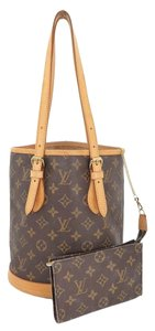 Louis Vuitton Petit Bucket Shoulder Bag