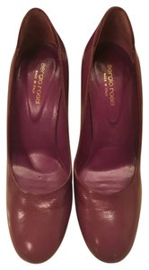 Sergio Rossi Designer Like New Purple Pumps