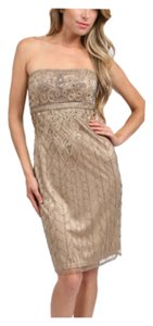 Sue Wong short dress Beige on Tradesy