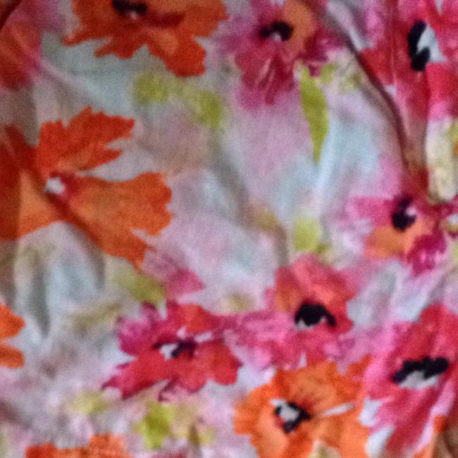 Ann Taylor LOFT Shorts Pink/ Orange Floral