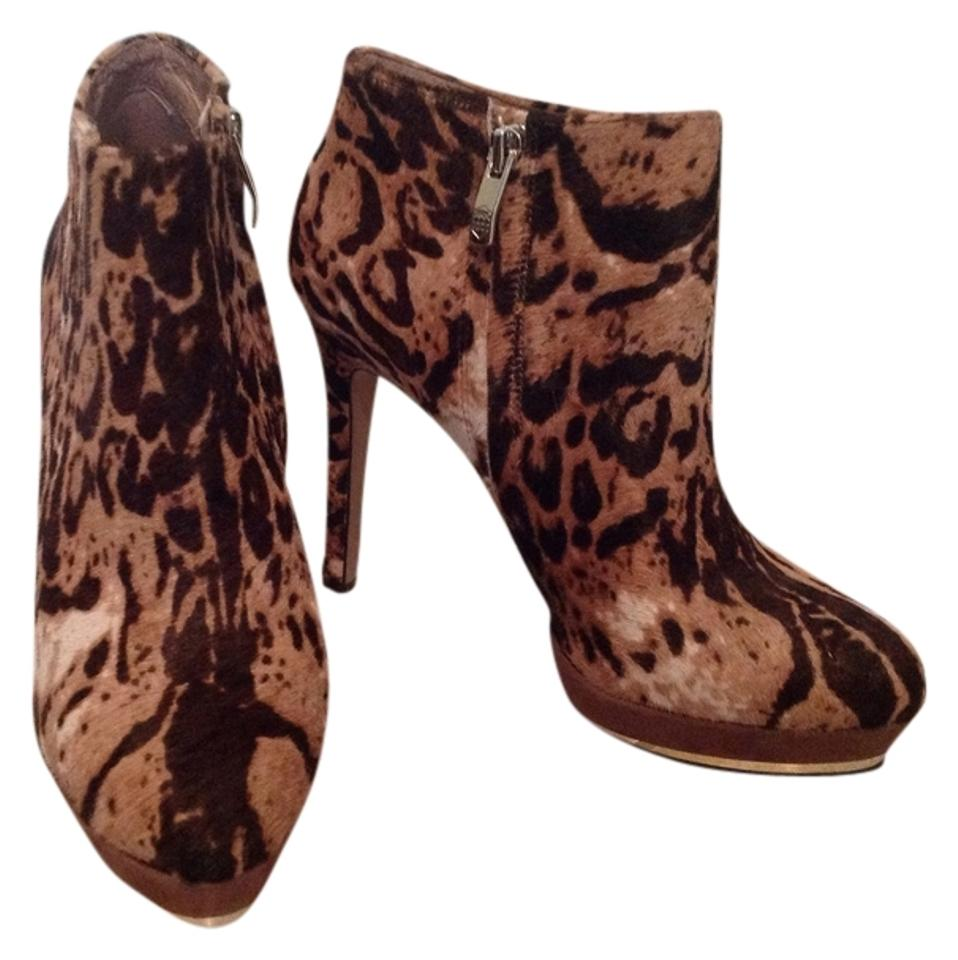 Vince Camuto Leopard Brown Boots/Booties and Tan (Sale ) Boots/Booties Brown da8c40