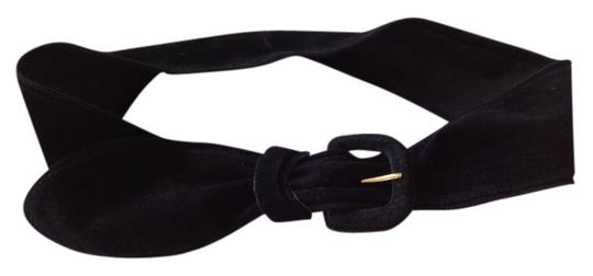 Albert Nipon Albert Nipon kid suede belt