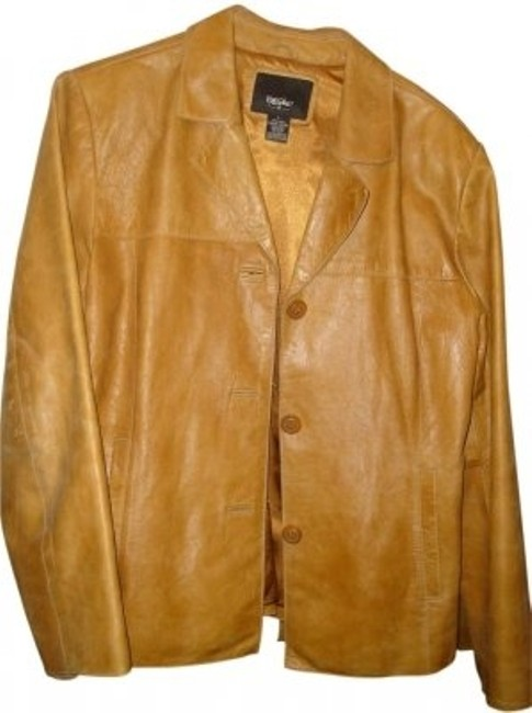 Preload https://item3.tradesy.com/images/mossimo-supply-co-brown-leather-jacket-size-12-l-7042-0-0.jpg?width=400&height=650