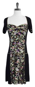 Marc Jacobs short dress Multi Color Bird Print Silk Short Sleeve on Tradesy