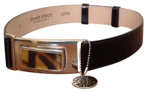 Streets Ahead Black Streets Ahead Small Adjustable Belt
