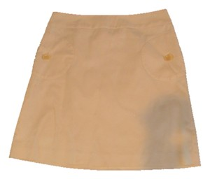 J.McLaughlin J Mclaughlin Size 6 Skirt yelllow