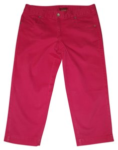 Merona Capri/Cropped Pants Hot Pink