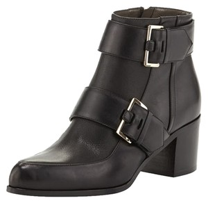 Jason Wu Leather Buckles New Ankle Black Boots