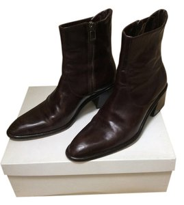 Joan & David Dark Brown Boots