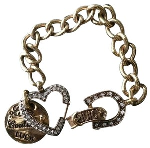 Juicy Couture Juicy Couture Gold Charm Bracelet