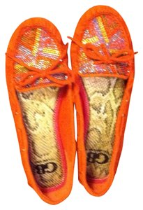 Gianni Bini Orange Flats