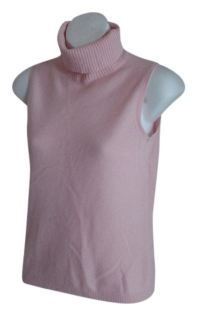 Preload https://img-static.tradesy.com/item/704592/lord-and-taylor-baby-pink-cashmere-sleeeveless-turtleneck-sweaterpullover-size-2-xs-0-0-650-650.jpg