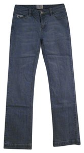 White House | Black Market Boot Cut Pants light blue demin