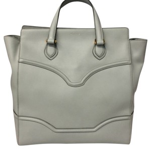 Mark Cross Satchel in Silver