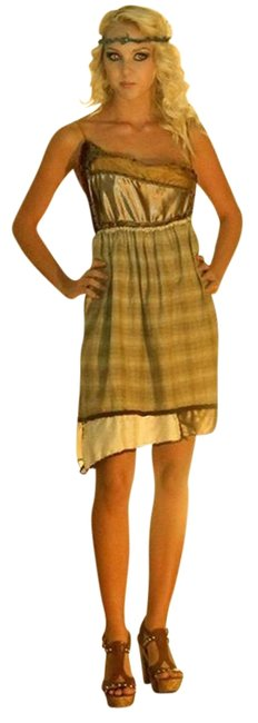 Other short dress tan creme on Tradesy