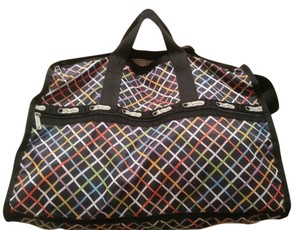 LeSportsac Weekender Carry-on Tote Beach Luggage Suitcase Travel Travel Overnight Multi Travel Bag