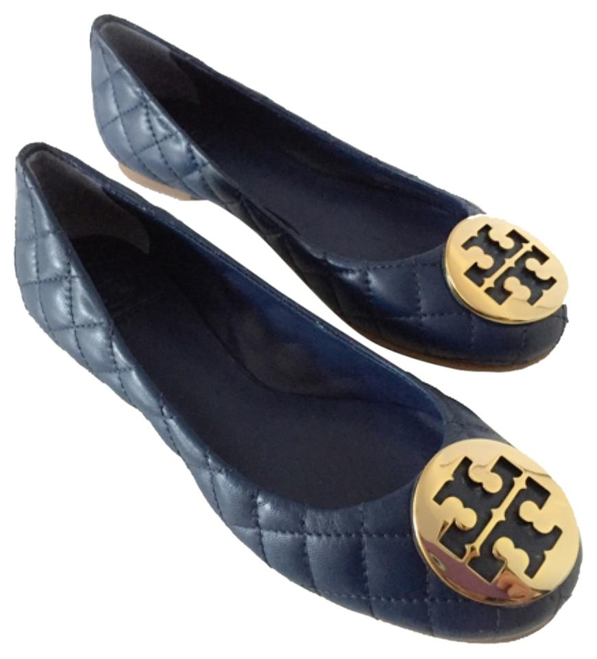 5297b11dbde3 Tory Burch Quinn Quilted Leather Ballet Quinn Quinn Navy Quinn Quinn Navy  Flats Image 0 ...