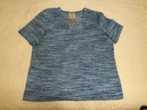 White Stag Top Blue Multi