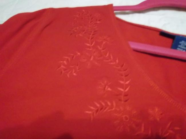 Karen Scott Top Red