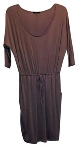 Soprano short dress Mocha on Tradesy